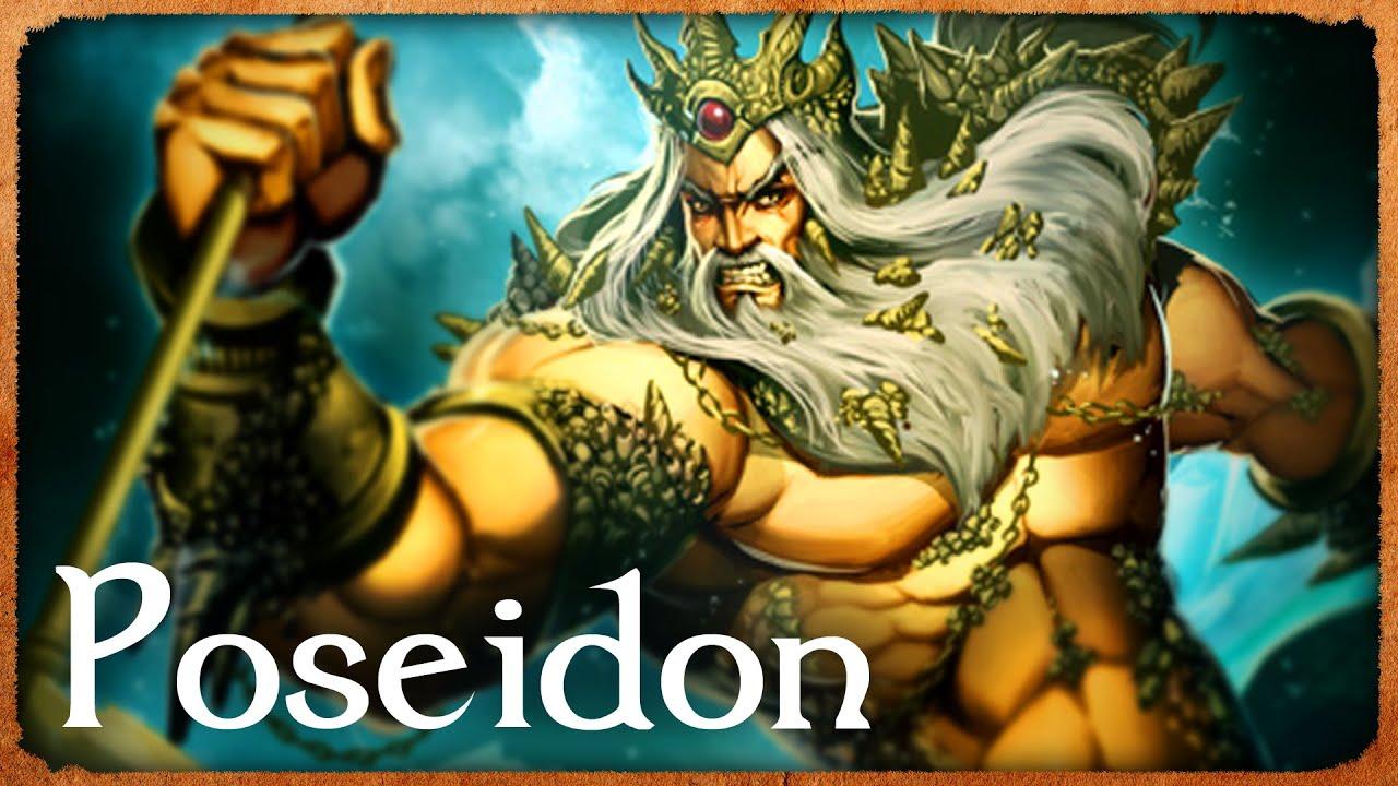 Poseidon God Of The Sea Explained Tales Of Earth