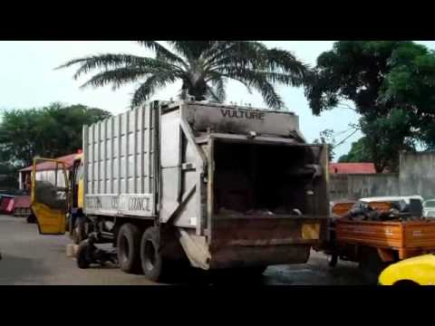 Freetown City Council works yard