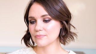 Bronze Eye Look using Gressa Eye Tints | Glow Organic