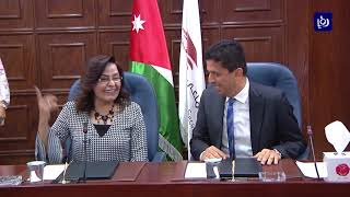 توقيع مذكرة تعاون بين مؤسسة الضمان الاجتماعي بين الأردن وفلسطين - (19-9-2017)