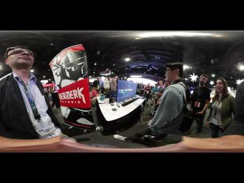 4K VR Blogging E3 2016 : IndieCade Pt 1: Inversus Clapper Logic Gatekeeper