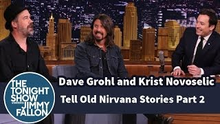 Download Dave Grohl and Krist Novoselic Tell Old Nirvana Stories - Part 2 Mp3 and Videos