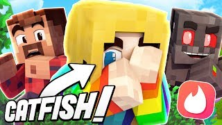 Minecraft Hide And Seek: Catfished on Tinder! (Funny Moments)