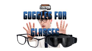 Airsoft Goggles for Glasses Wearers