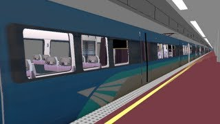 [openBVE] 機場快線列車最新進度 MTR Airport Express Train Latest Update