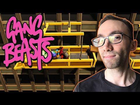 Gang Beasts Multiplayer Gameplay - یک بازی خنده دار و باحال