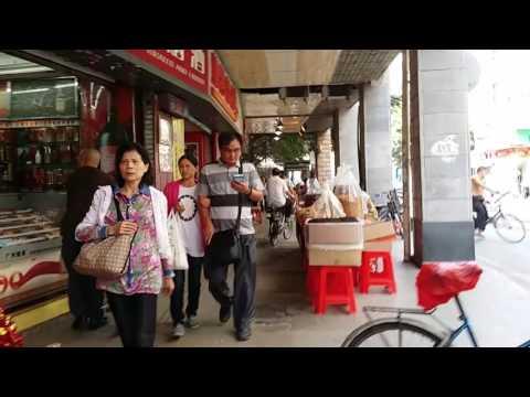 Walking through Guangzhou City street market China part ll