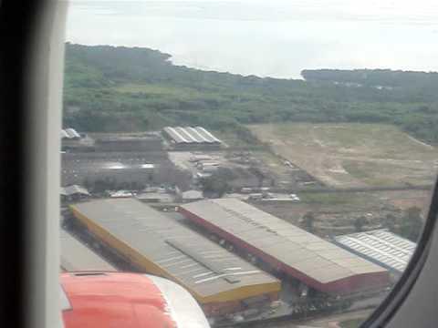Landing in Rio de Janeiro (GIG) International Airport