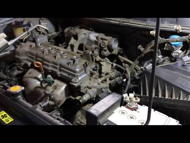 Фото к видео: Ниссан примьера 2004 года кузов QP12 ремонт двигателя QG18DE Nissan Primera