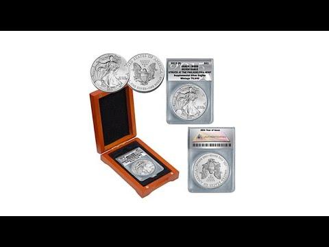 2015 MS69 Philadelphia Mint Silver Eagle Dollar Coin