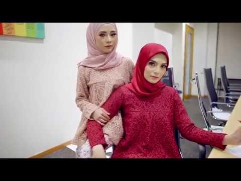 Baju Kurung Lace Paling Mewah Dengan Design Batik Yangg Rare