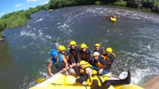 Rock Splat in a Raft