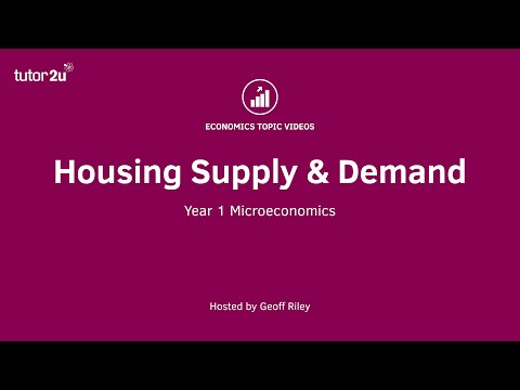 Microeconomics Of House Prices