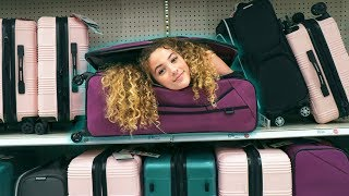 [9.55 MB] TRUTH or DARE: I FIT INTO A SUITCASE IN PUBLIC!!