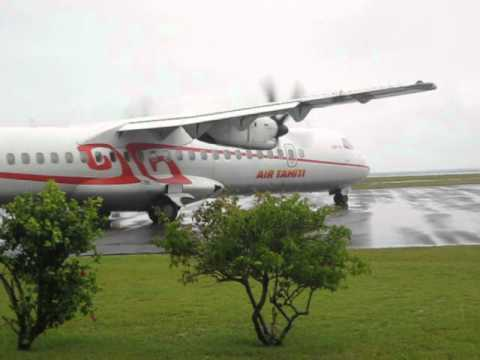 Air Tahiti ATR 72-500 Engine Startup