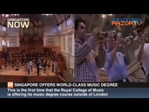 Singapore offers world-class music degree