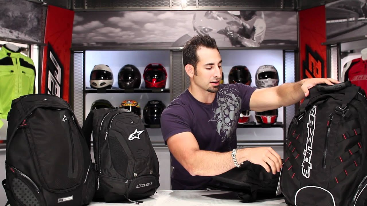 Alpinestars Backpack Overview & Guide at RevZilla.com - YouTube
