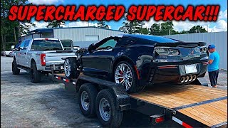 Download Rebuilding A Wrecked 2017 Corvette Z06 Mp3 and Videos