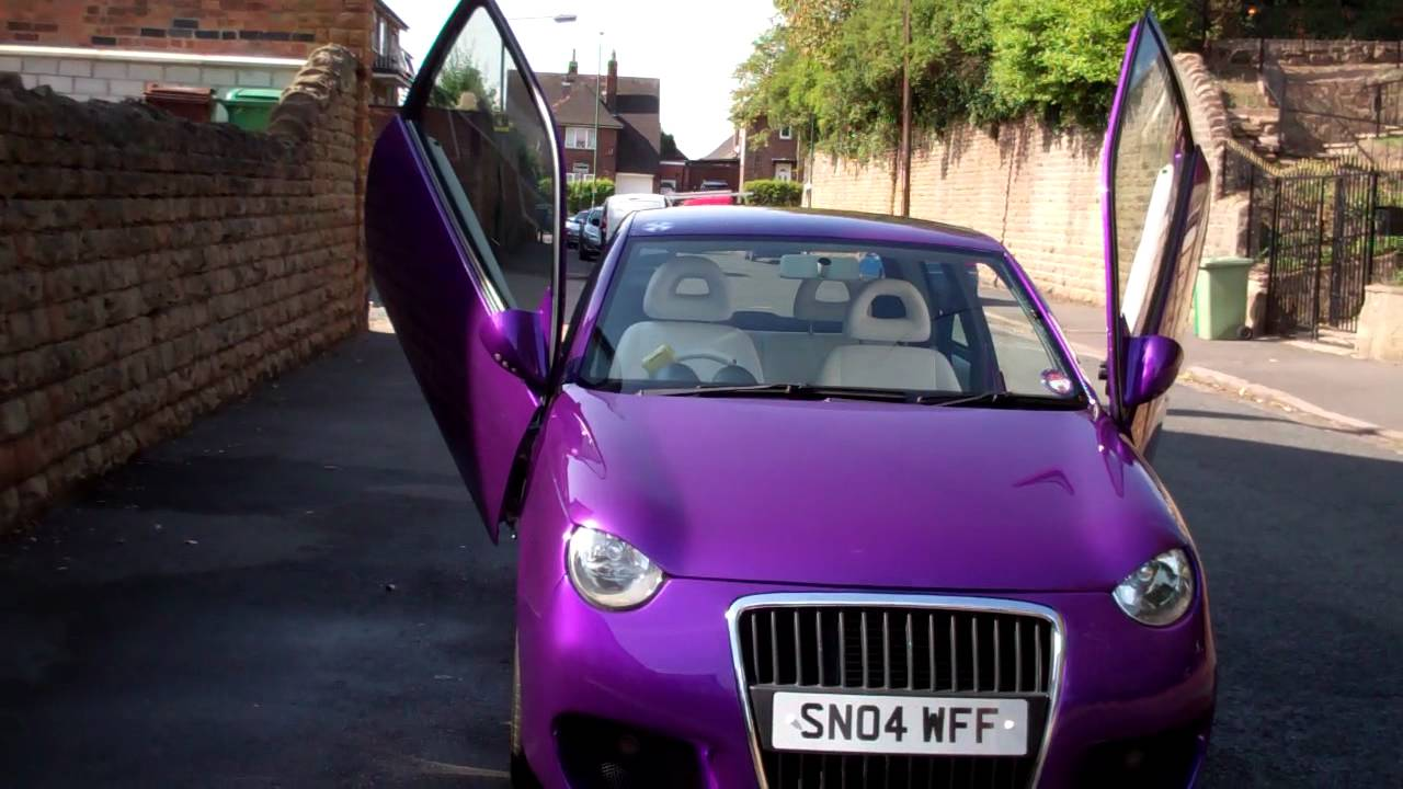 purple volkswagen lupo 1 0 2004 43 500miles youtube. Black Bedroom Furniture Sets. Home Design Ideas