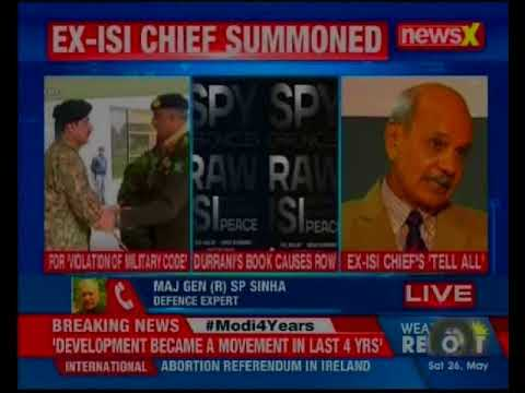 Ex-ISI cheif  Durrani summoned by Pakistan Military Over Book Co-Authored With Ex-RAW Chief