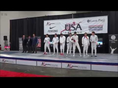 Junior Teams Men's Epee Gold Medal Final - Alliance Fencing Academy 1 Vs. G-Unit