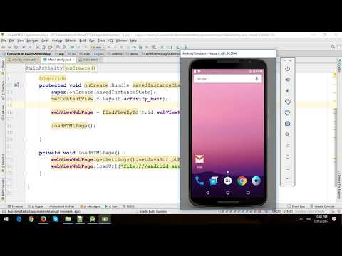 Display HTML Page With Images And Bootstrap To WebView In Android