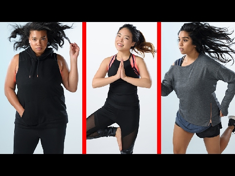 Thumbnail: Women Try Target's Size-Inclusive Athletic Line
