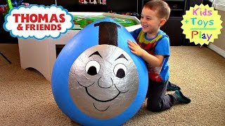 Thomas and Friends GIANT Surprise Egg   Thomas Train Biggest SURPRISE Egg & Playtime
