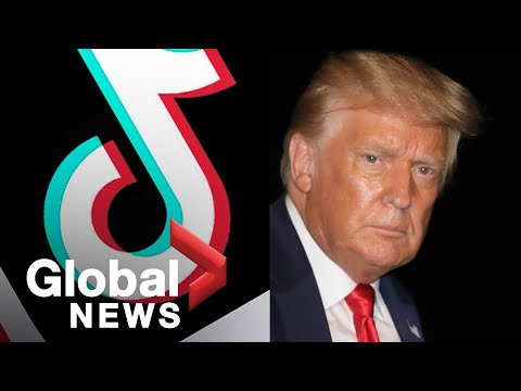 Donald Trump threatens to ban TikTok in the United States