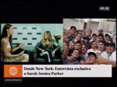 Entrevista exclusiva a Sarah Jessica Parker en América Espectáculos