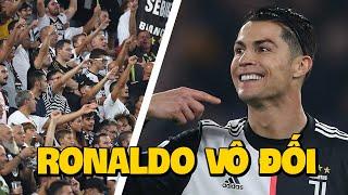 Khi cả sân vận động náo loạn vì cú sút mang tầm vĩ nhân của Cristiano Ronaldo