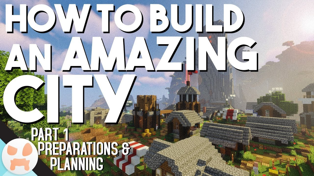 How to Build an AMAZING CITY – Minecraft 1.13.2 | Part 1 – Preparation