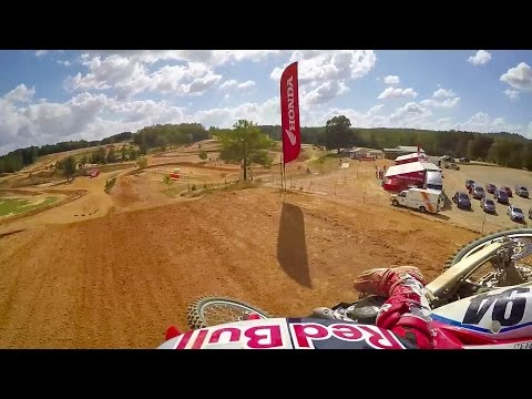 Ken Roczen Go Pro Onboard TW Motocross video