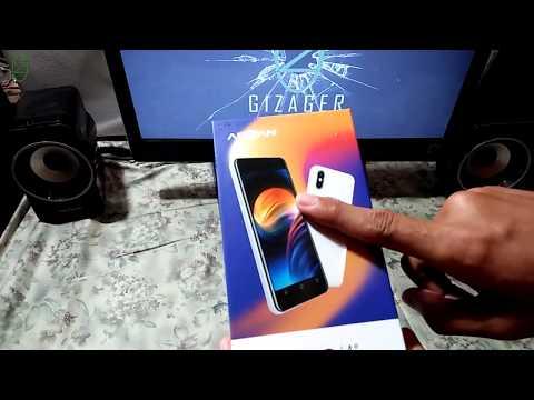 Unboxing Dan Review Advan S40 body seperti iphone 5 Hanya 600rban