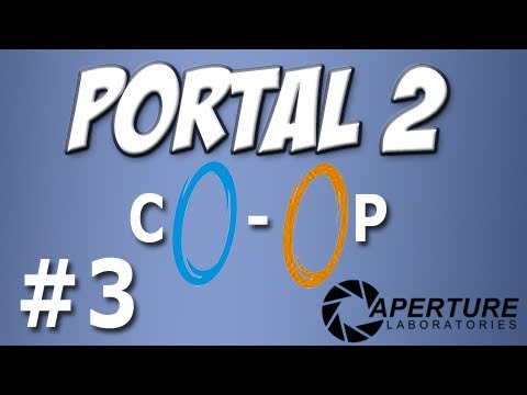 Yogscast - Portal 2: Co-op 3 - Mass and Velocity 1-3