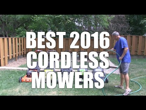 Best Cordless Mowers of 2016 - Top 5