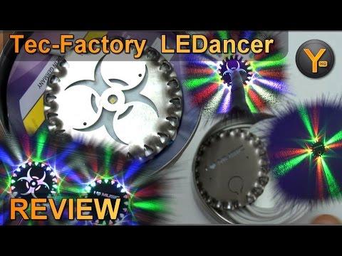 Review: Tec-Factory LEDancer / Sound2Light USB LED Lichteffekt für Musik / Electro House DnB Dubsteb