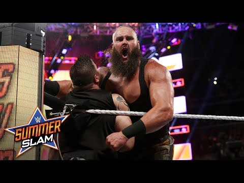 Braun Strowman shows no mercy against Kevin Owens: SummerSlam 2018 (WWE Network Exclusive)