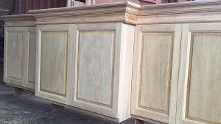 Woodworking Tools // How To Make Kitchen Cabinet Doors Extremely Simple
