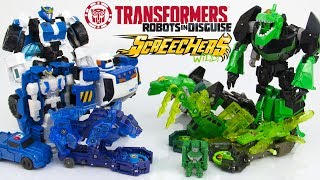 Зеленые роботы против Синих роботов. Игрушки Трансформеры.