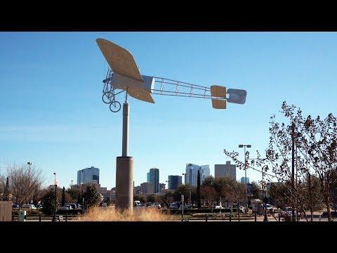 Fort Worth's First Flight Park Dedication on 13 January 2018.