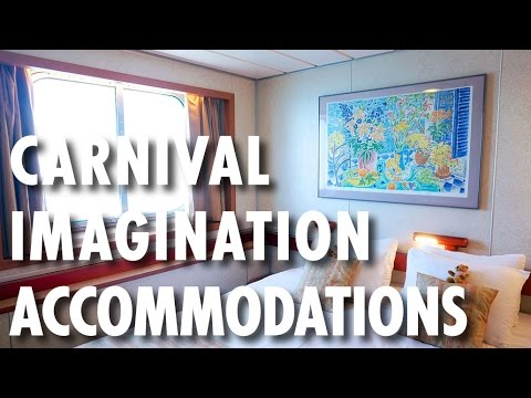 Carnival Imagination Tour & Review: Accommodations ~ Carnival Cruise Line ~ Cruise Ship Review