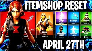 🔴 *NEW* FORTNITE ITEM SHOP RESET NEW SKINS LIVE APRIL 27th LIVE COUNTDOWN