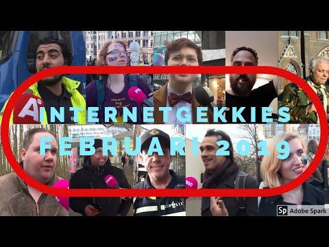 De Internetgekkies van de maand Februari 2019