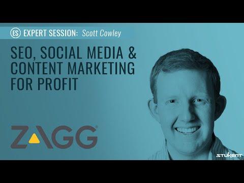 Stukent Expert Session 02 - SEO, Social Media & Content Marketing For Profit