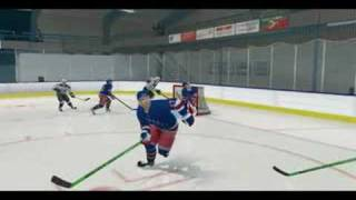 NYR vs. TB at Mrazik ice arena NHL 08