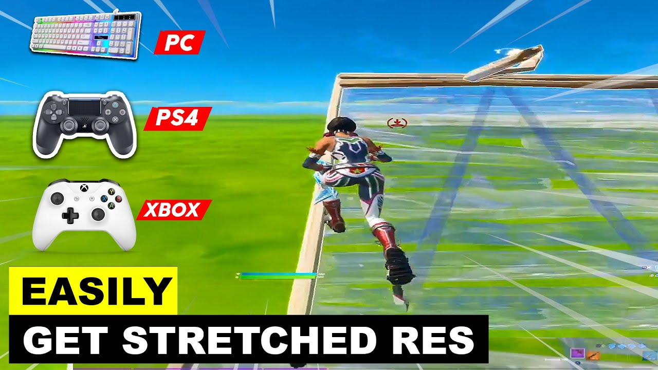 Download How to Get Stretched Resolution in PS4 , PC , XBOX! Fortnite Chapter 2 - Season 2