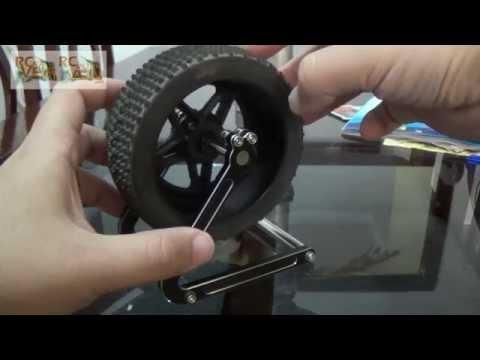 RCNAVEIA - wheel balanced in a propeller balancer