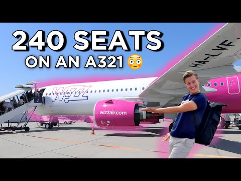 Wizz Air A321neo - The World's Densest Airbus A321!