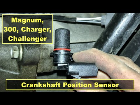 Dodge Magnum 5 7 Hemi Crankshaft Position Sensor Replacement